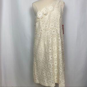 Merona Single shoulder Crochet Dress, NWT, Sz 16